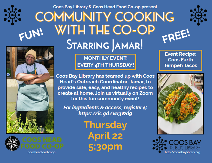 Cooking with community April 2021