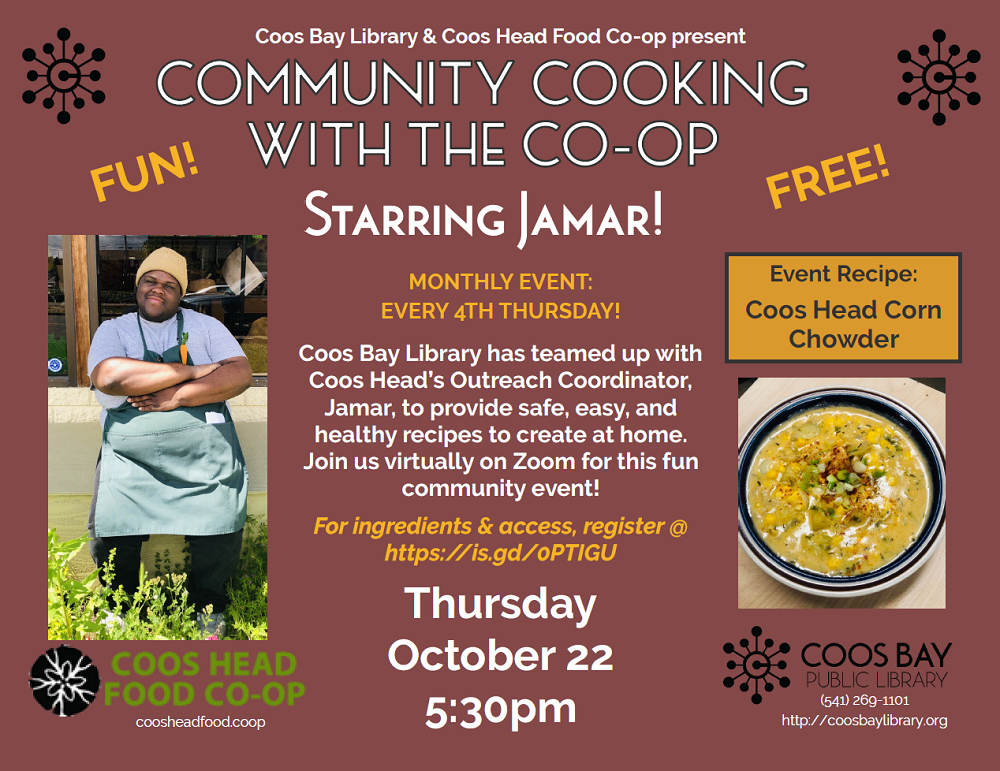 Cooking with community October 2020