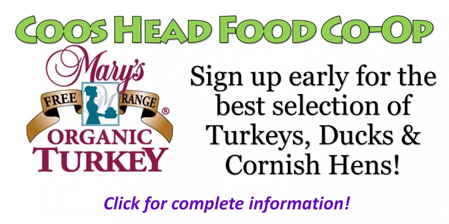 Sign up for turkeys