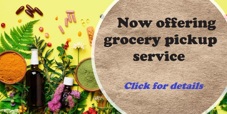 Grocery Pick up Service Available
