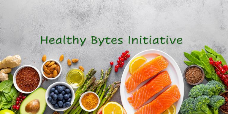 Healthy Bytes Initiative Slider - fresh food